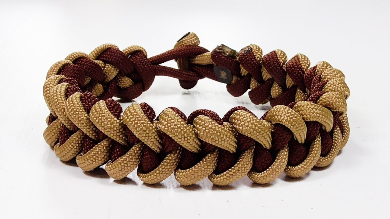Paracord Bracelet: Shark Jawbone Bracelet Design Without Buckle
