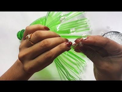 Plastic Flower, Plastic Bottle Decoration, Christmas Craft || Life Hacks #06