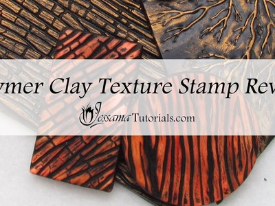Polymer Clay Texture Stamp Review