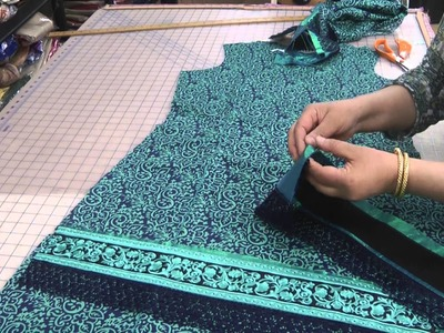 Preperation to make a unique dress