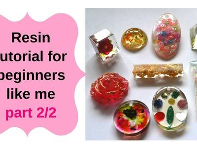 Resin tutorial for beginners part 2.2