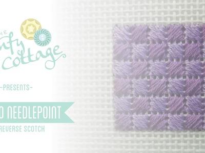 Reverse Scotch Stitch - How To Needlepoint