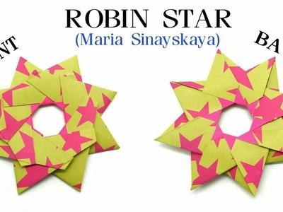Robin Star by Maria Sinayskaya - Variation 3 - DIY origami Tutorial - 857