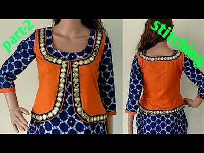 Simple koti cutting and stitching in hindi part-2  DIY 