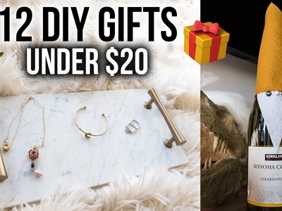 12 DIY Christmas Gifts Under $20! (EASY + AFFORDABLE)