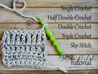 Basic Crochet Stitches (How to) Tutorial