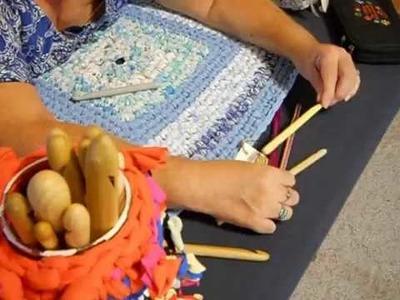 Choosing a Rag Rug Crochet Hook for your Rag Rug Project