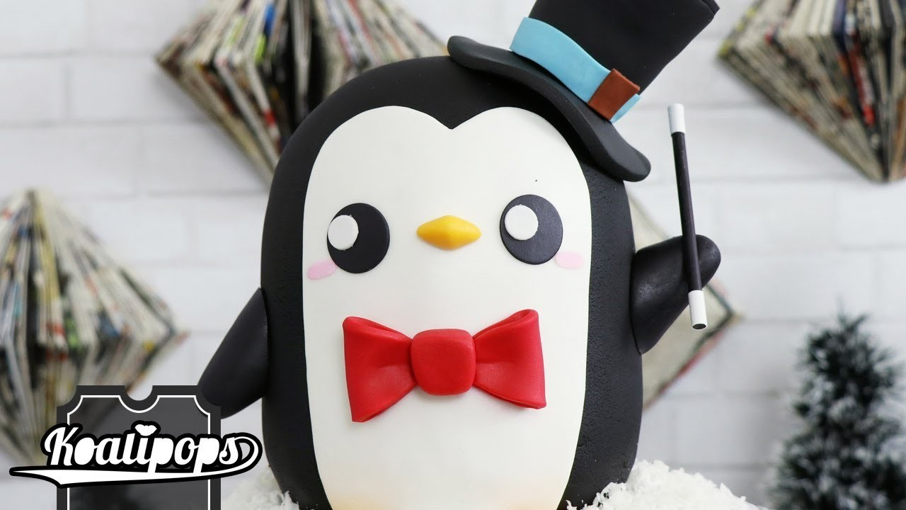 Christmas Penguin Cake   DIY & How To