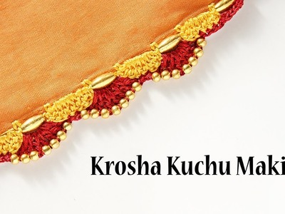Create4you designs. Krosha Kuchu.Tassel.Crochet Design Making Video