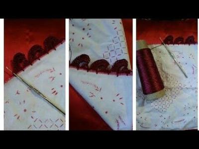Crochet dupatta. Rumal lace pattern in hindi