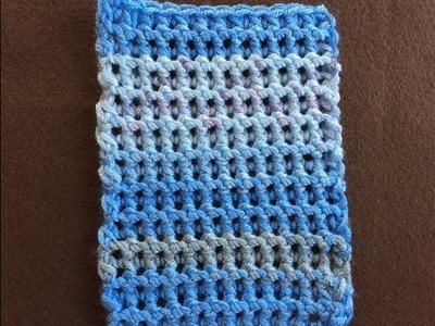 Crochet Little Peas Stitch Tutorial | Easy And Elegant Beginner Stitch