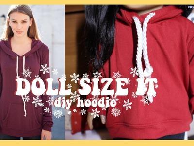 DIY BRANDY MELVILLE HOODIE FOR AMERICAN GIRL DOLL!