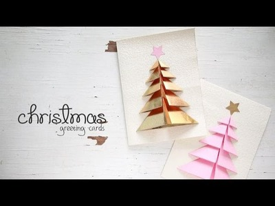 DIY Christmas Greeting Cards