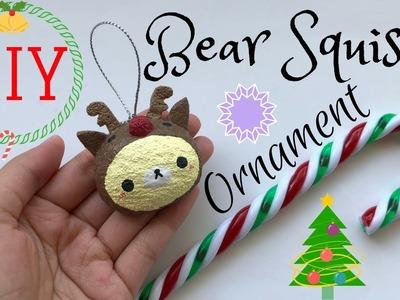 DIY Christmas Squishy Ornament! | mishcrafts