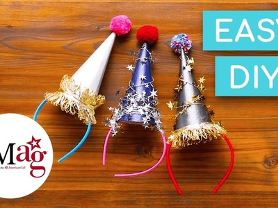 DIY Easy ???? New Year's Party Hat ???? | OMaG | American Girl
