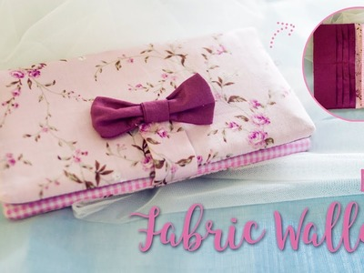 DIY Fabric Wallet Tutorial (Easy Sewing From Scratch) | I Wear A Bow