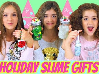 DIY Holiday Slimes & Gift Containers!
