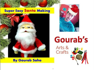 DIY | How To Make Santa Claus | Christmas Decoration | Best out of waste Bottles | | Santaclaus