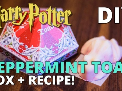 DIY Peppermint Toad Box + Recipe