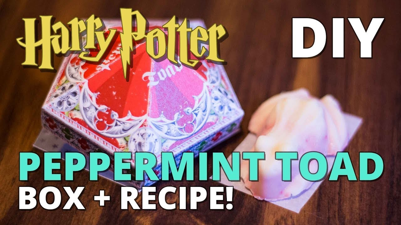 DIY Peppermint Toad Box + Recipe