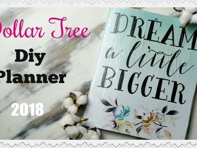 DIY PLANNER NOTEBOOK | DOLLAR TREE DIY PLANNER 2018 | Momma from scratch