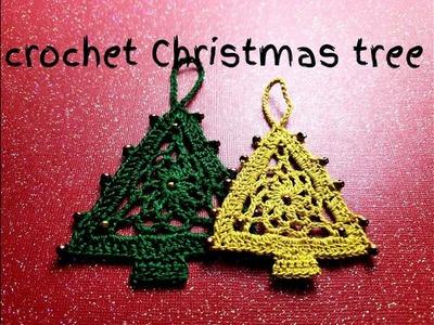 How to crochet Christmas tree
