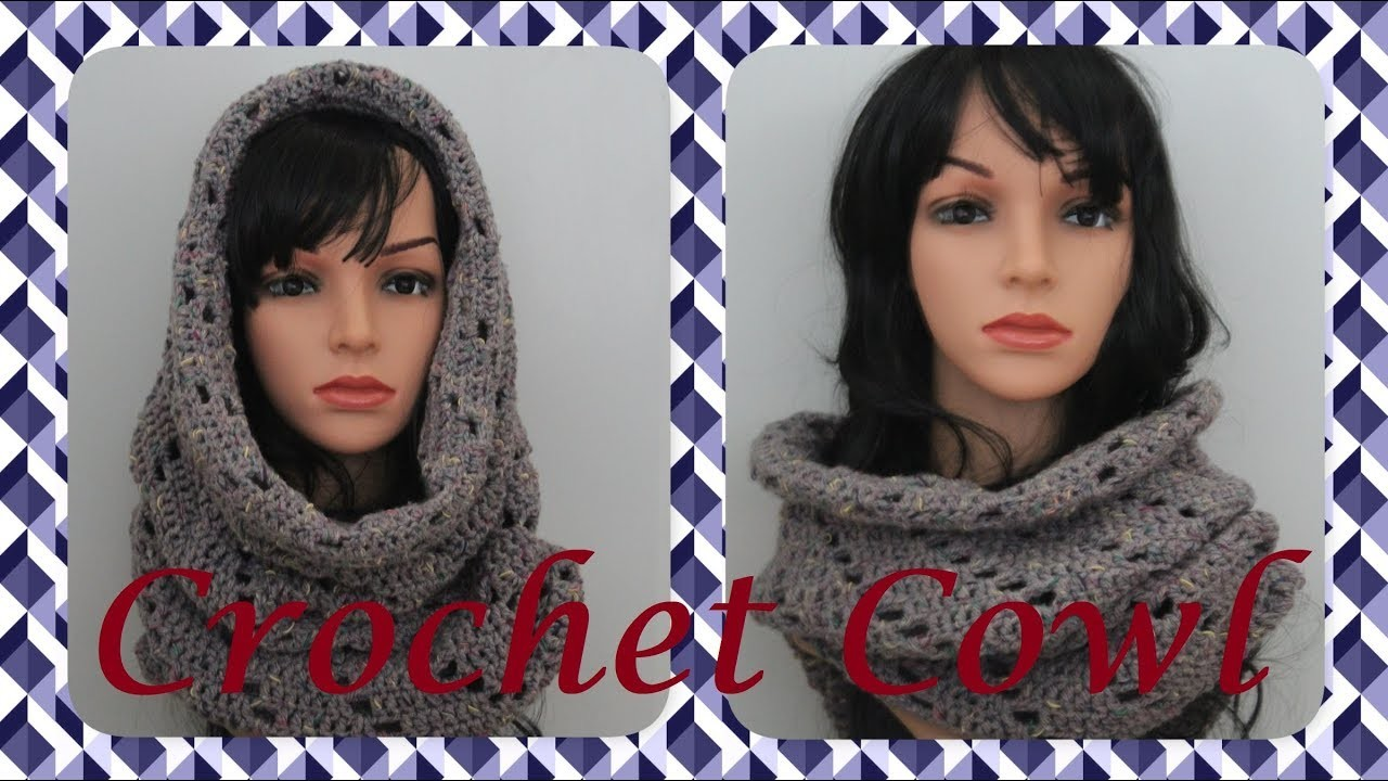 How to Crochet Very Easy Cowl