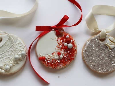 How To Decorate Christmas Ornament Cookies