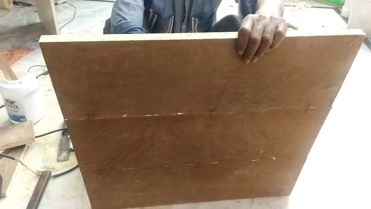 How to Join two Plywood pieces. Wood Pieces together easily