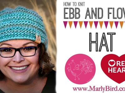 How to knit Ebb and Flow Chunky Hat
