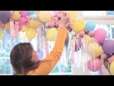 How to make a DIY Creative Wedding Balloon Arch