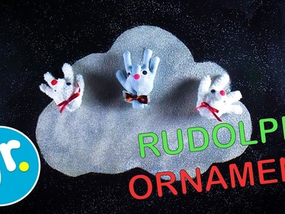 How to Make a Merry Rudolph Christmas Ornament - Crafty Cloud