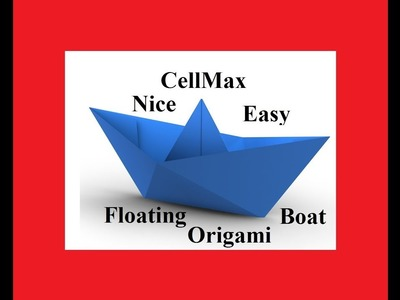 Origami How To Make A Paper Boat Paper Boat Instructions Paper