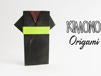 How to make a paper Kimono dress - Origami Yukata dress - Origami Clothes