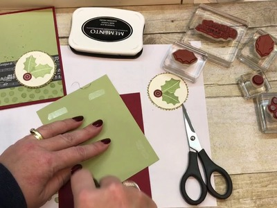 "How to make a Simple Christmas Card for ""Procraftinators"""