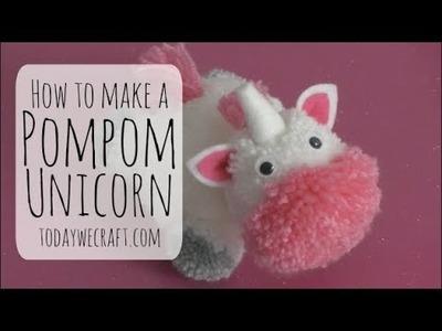 How to make a unicorn Pompom