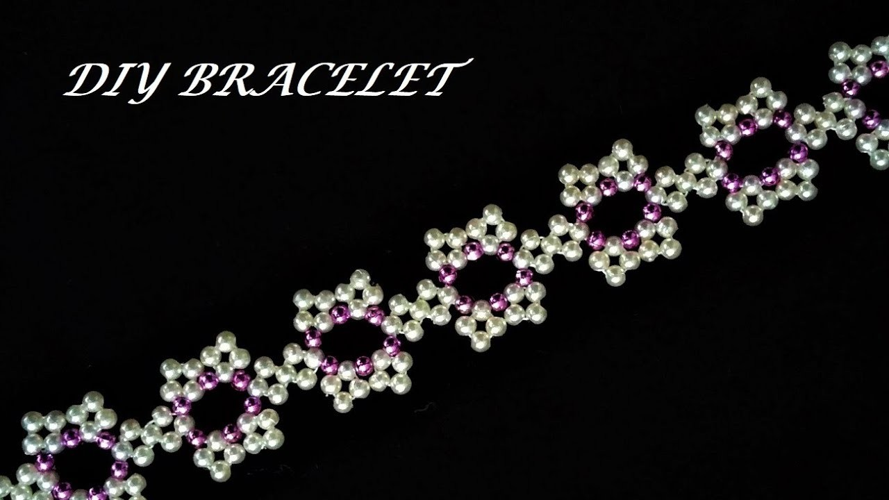 How to make an elegant bracelet. Diy tutorial
