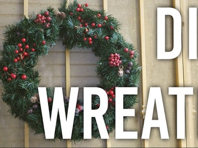 How to Make and Decorate Wreaths - DIY