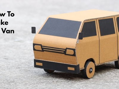 How To Make RC Van || MiniVan || very simple