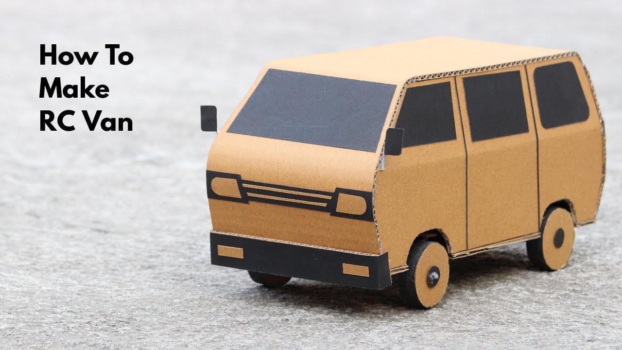 How To Make RC Van || MiniVan || very simple