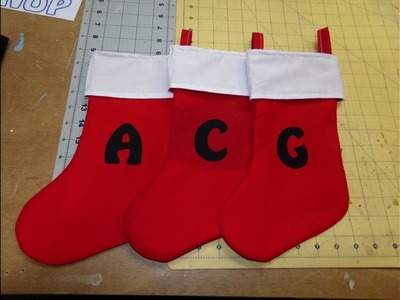 How To Sew A Quick And Easy Christmas Stocking