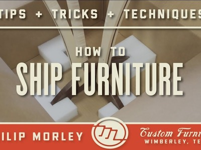How to Ship Furniture