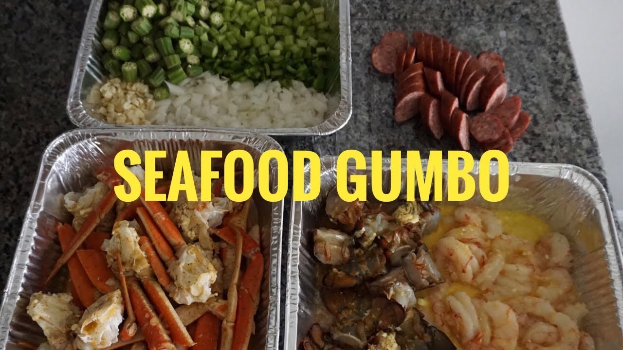 How To | Simple Seafood Gumbo