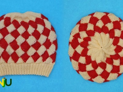 Interlock knitting Cap design