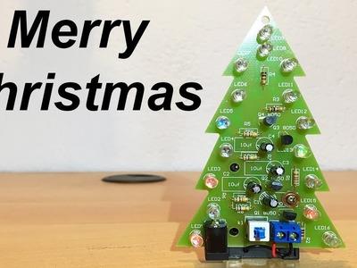 LED Christmas Tree DIY [Electronic KIT Assembly] - By STE