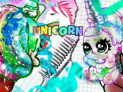 MAGIC UNICORN BABY ???? GLITTERY + SPARKLY CUSTOM LOL Surprise DOLL | DIY. TUTORIAL