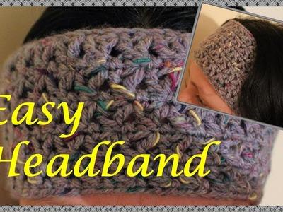 Quick and Easy Crochet Headband