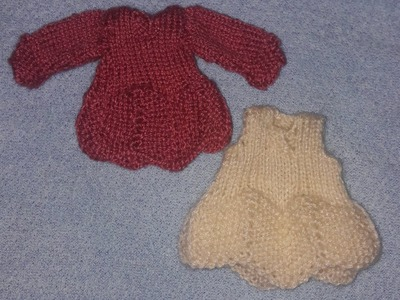 Simple frock design for babies easy to knit knitting designs