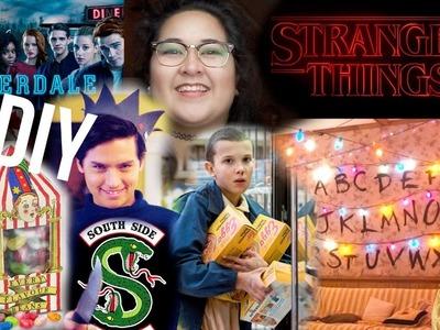 Stranger Things, Riverdale & Harry Potter themed Gift Ideas DIY