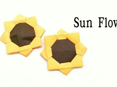 Sunflower - DIY Origami Tutorial - 22